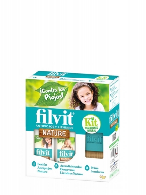 Filvit kit nature antipiojos y liendres