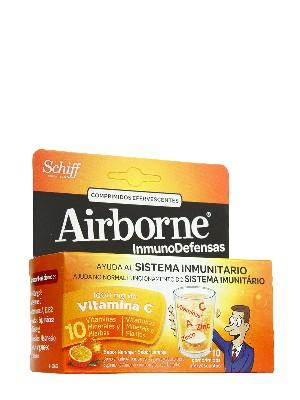 Airborne naranja 10 comp eferv