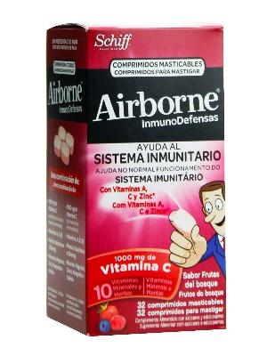 Airborne frutas bosques 32 comp. masticables