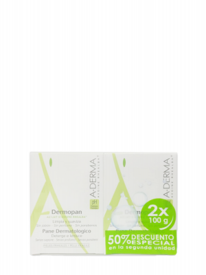 A-derma dermopan pack 2x100 gr