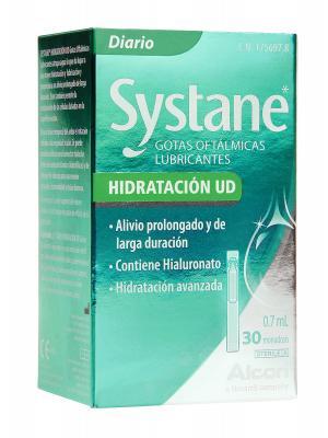 Gotas oftálmicas lubricantes systane 30 monodosis.