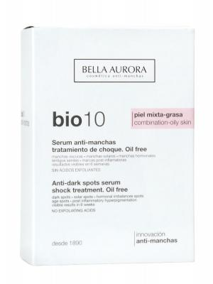 Fluido antimanchas bio 10 para piel mixta bella aurora 30ml