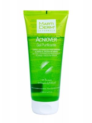 Martiderm acniover gel limpiador purificante 200 ml