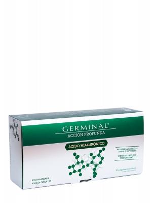 Ampollas germinal acción profunda ácido  hialurónico 30 ampollas