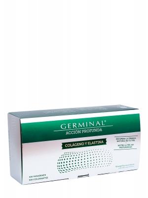 Germinal colageno y elastina 30 amp 1 ml