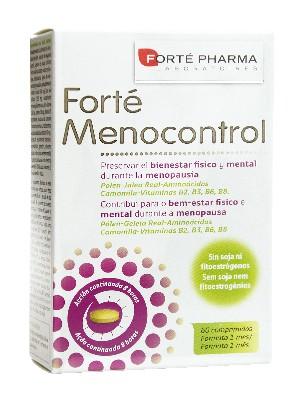 Menocontrol forte de forte pharma 60 comprimidos