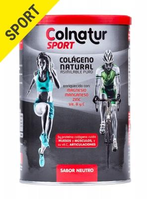 Colnatur® sport colágeno natural sabor neutro 330 gramos