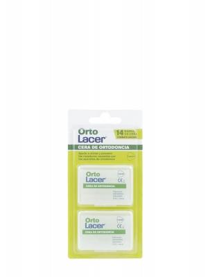 Lacer ortolacer cera ortodoncia 2x7 barras