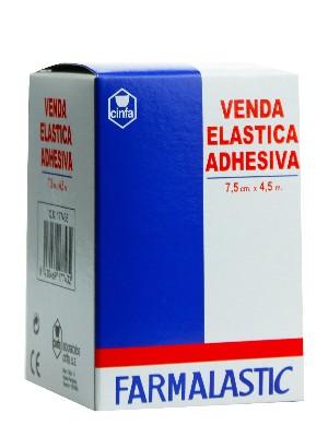 Venda elastica adhesiva farmalastic 4,5 x 7,5