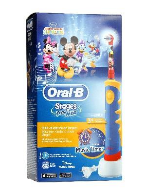 Cepillo eléctrico infantil mickey de oral b