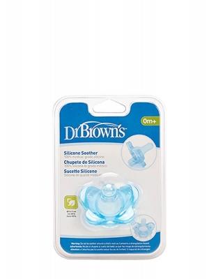 Dr brown's chupete silicona azul ps11004