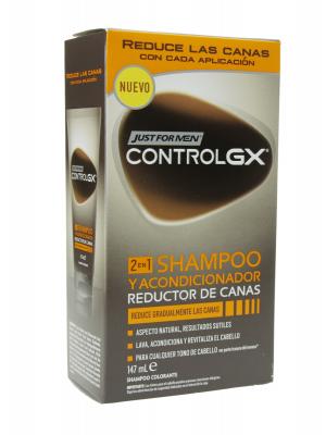 Just for men control gx champú y acondicionador 147ml