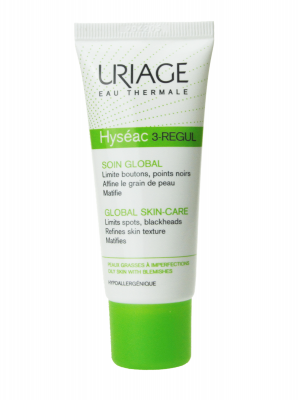 Uriage hyséac 3 regul cuidado global 40 ml