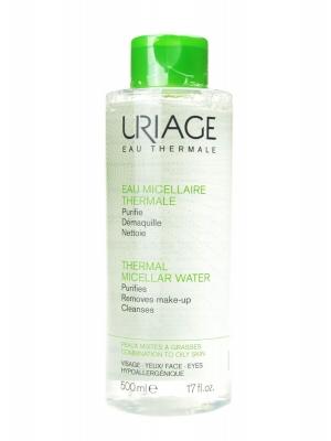 Uriage agua termal micelar piel grasa 500 ml