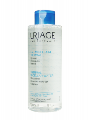 Uriage agua micelar piel normal a seca 500 ml