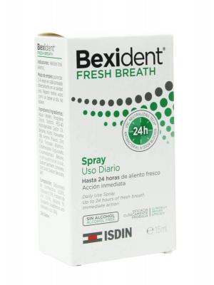 Bexident fresh breath spray 15 ml