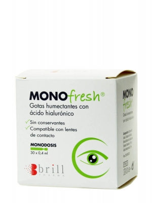 Monofresh gotas humectantes 30x0,4ml monodosis