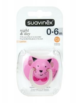 Chupete de noche de 0 a 6 meses latex tetina anatómica de suavinex