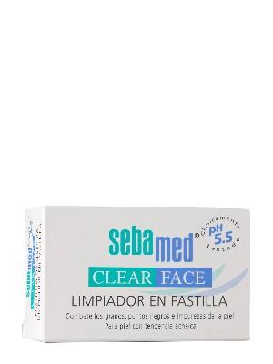 Sebamed limpiador pastilla clear face 100 gr