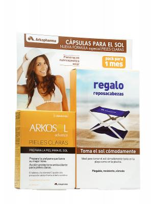 Arkosol ® advance pieles claras 30 cápsulas.