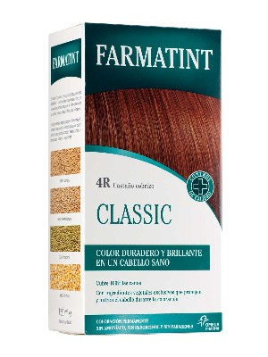 Farmatint 4r 135 ml castaño cobrizo