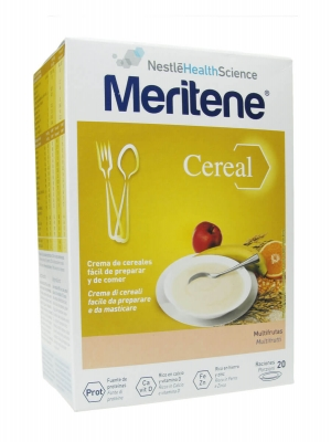 Meritene cereales multifrutas 2x300g