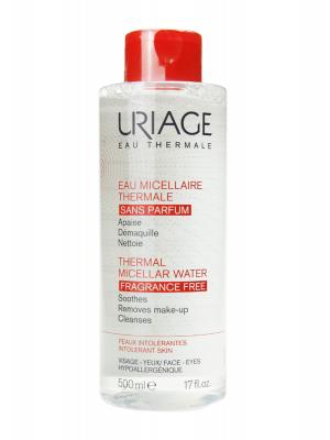Uriage agua micelar termal piel intolerante  sin perfume 500 ml