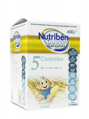 Nutribén innova 5 cereales 600 g