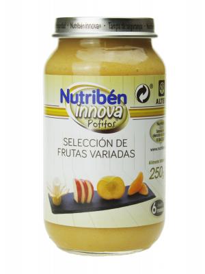 Nutribén innova selección de frutas variadas 250 gr