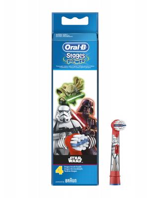 Oral b star wars recambio cepillo eléctrico 4 unidades