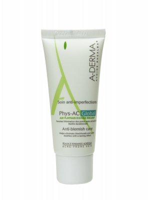 A-derma phys-ac global anti-imperfecciones 40ml