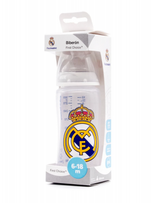 Roche biberon silicona real madrid 6-18 meses 300ml