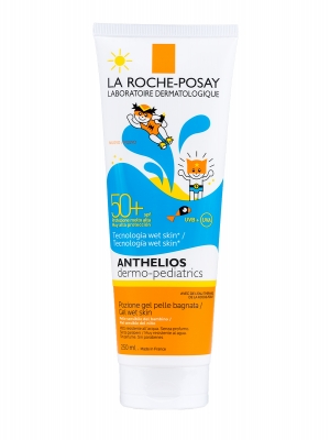 La roche posay anthelios pediátrico gel wet skin spf 50+ 250ml