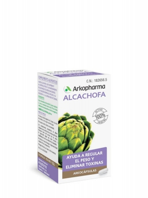 Arkopharma arkocapsulas alcachofa 40 cápsulas