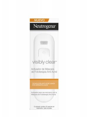 Neutrogena visibly clear batería máscara fototerapia 30 sesiones