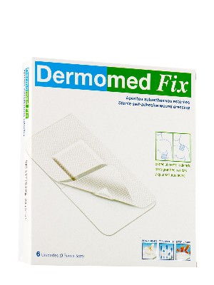 Dermomed fix apósito adhesivo 9 cm x 5 cm 6 unidades