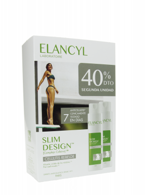 Elancyl slim design celulitis rebelde 2x200 ml