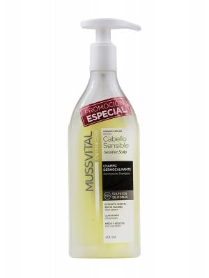 Champú para cabello sensible mussvital 400ml