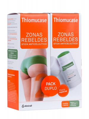 Thiomucase stick anticelulítico mujer pack duplo
