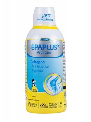 Epaplus bebible colágeno, ácido hialurónico y magnesio sabor limón 1l