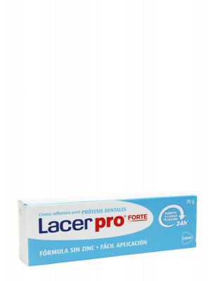 Lacer pro forte crema fijadora 24 horas 70 gr