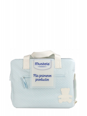 Mustela bolsa primeros productos azul