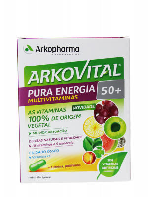 Arkovital pura energía 50+