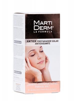 Antiox preparador solar antioxidante martiderm 60 cápsulas.
