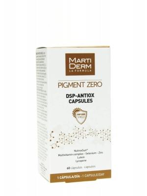 Martiderm pigment zero  dsp antiox 60 cápsulas.
