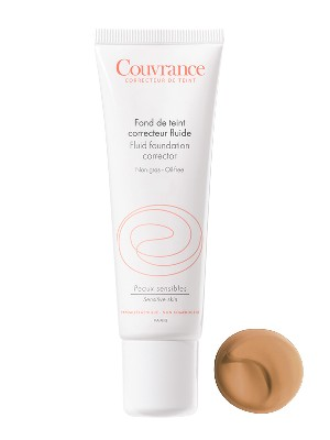 Avène couvrance. maquillaje fluido nº 4 tono miel , 30ml.