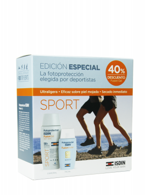 Isdin pack sport fusion gel + fusion water