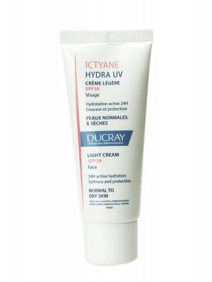 Ducray ictyane hydra uv crema ligera spf 30 40 ml