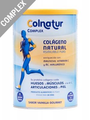 Colnatur ® complex colágeno sabor vainilla gourmet 330 g