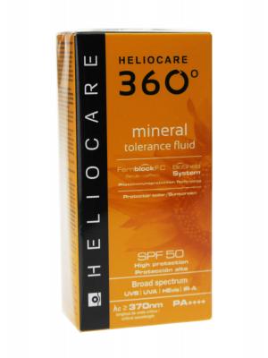 Heliocare 360º mineral tolerance fluid spf 50 50ml